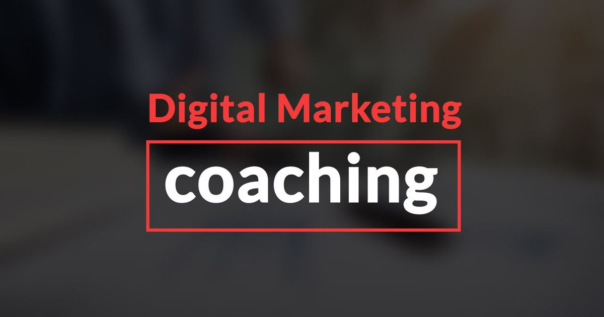 Remix Of Digital Marketing Coaching
