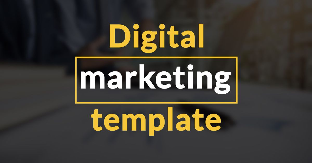 Remix Of Digital Marketing Template