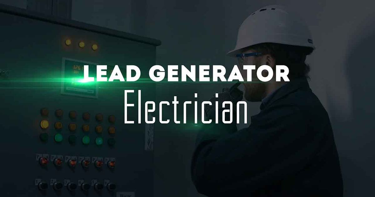 Remix Of Lead Generator Electrician